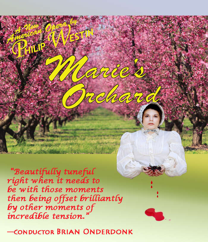 Marie's Orchard Logo